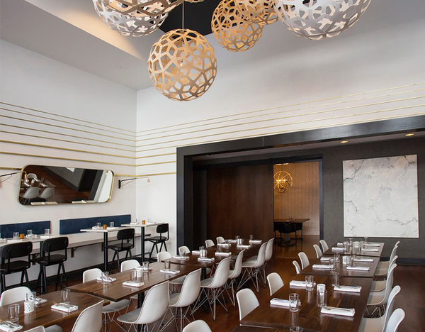 austins second bar kitchen expands into congress hall offers private event space - Second Bar And Kitchen